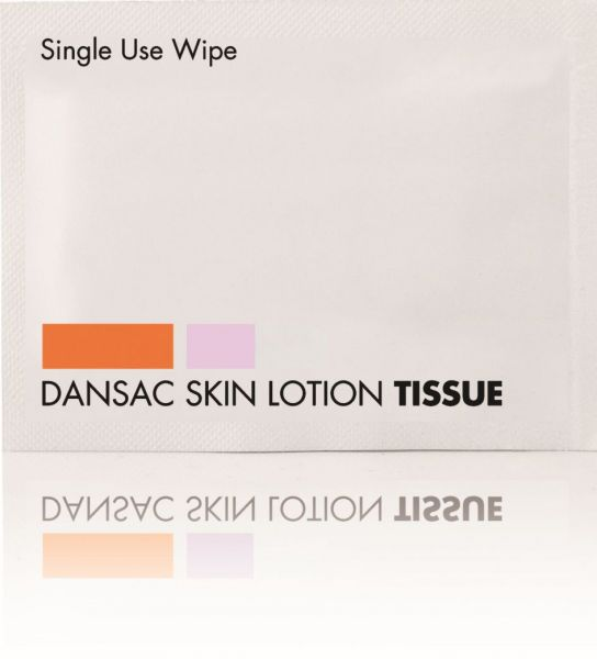 Skin Lotion Tücher