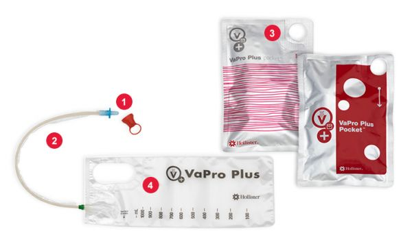 VaPro Plus Pocket Katheter Nelaton