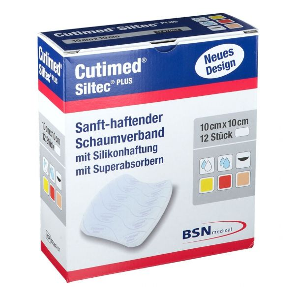 Cutimed® Siltec® Plus